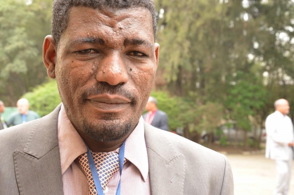 Synodepresident Esayas Emene