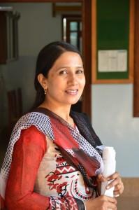 Erona Matthew er prosjektleder i Parkari Community Development Programme.