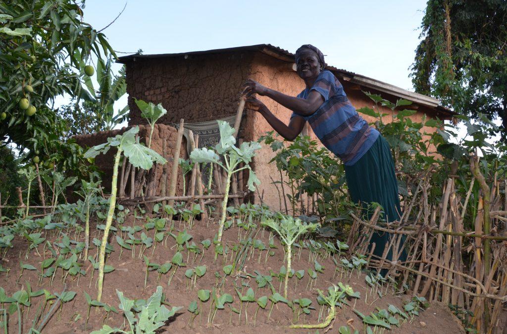 Enken Alice Mutonyi har fått nytt håp gjennom Frelsesarmeens landbruksprosjekt.