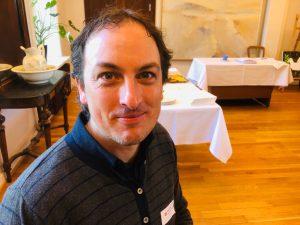 Stig Stordal deltok på Medlemsdagene som representant for Pinsemisjonen.